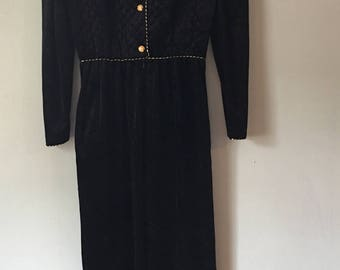 Vintage Evelyn Pearson 60's Jumpsuit Small