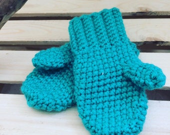 Crochet Toddler Mittens