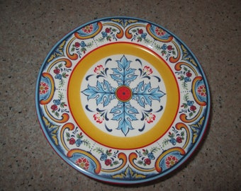 Euro Ceramica Salad Plates - Set of 6