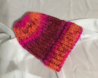 Pink-Orange Gradient Child Hat