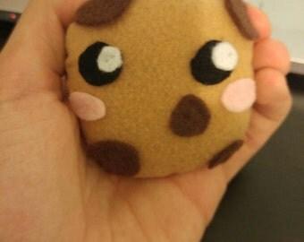Cookie Plushie, Cookie Stuffed Animal, Kawaii Cookie, Adorable Cookie Plushie, Cookie Stuffed Toy