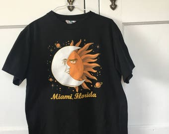 Sun and Moon Vintage Miami, FL T-Shirt