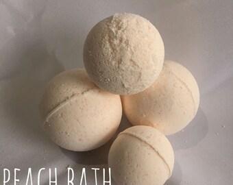 Peach Bath Bomb