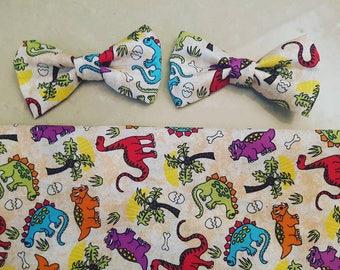 Dinosaur Bow Tie