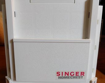 Vintage SINGER HOMECHEST with Unopened Contents Excellent Condition
