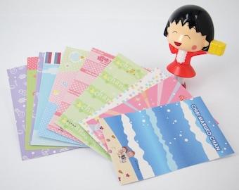 Cute Instax film skin, Sakura Maruko character Instax photo sticker, Sakura Maruko Instax mini decoration, Kawaii Instax mini photo frame