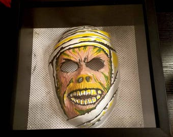 Mummy Mask Shadowbox