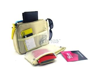Periea Light Brown/Purple/Blue/Pink Handbag Organiser - Small Size  | TEGAN