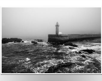 "Poster ""Storm"" Print Photoprint Photography Black and White FineArt"