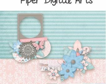 Digital Scrapbook Kit - Cherish