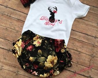Daddys Girl Floral outfit!