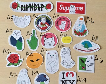 RipNDip Laptop Stickers
