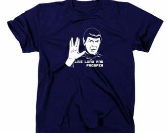 No. 2 Mr. Spock Star Trek T-Shirt