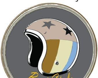 Premade Retro Logo. Business Card. Premade Logo. Business Branding. Marketing Logo. Advertising. Pop art illustration