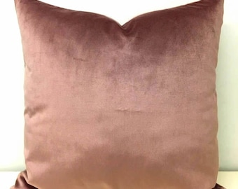 Luxury Dark Pink Velvet Pillow Cover, Velvet Pillow, Pink Pillows, Decorative Throw Pillow, Cushions, Dark Pink Velvet Pillow Case Covers