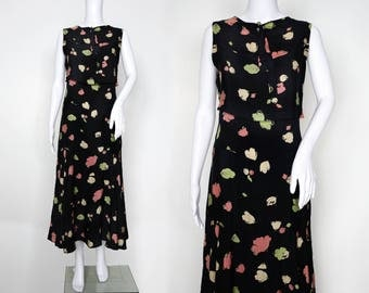 1930s Reversible Floral Day Dress