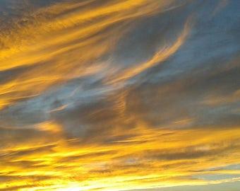 Sunset Wall Art, Sunset Photography, Framed Photography, Sunset Wall Decor
