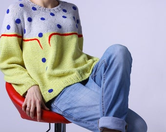 Exclusive Handmade Knitted sweater