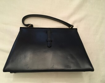 Paristyle Navy Blue Faux Leather bag