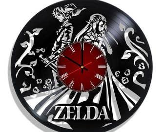 Zelda Original wall clock, Zelda wall poster
