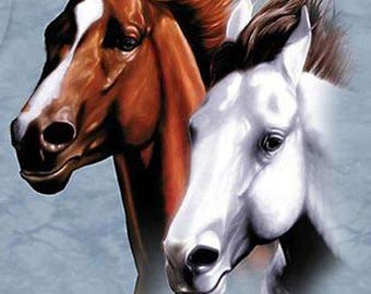 Wild Horses # 2 Cross Stitch Pattern***LOOK***