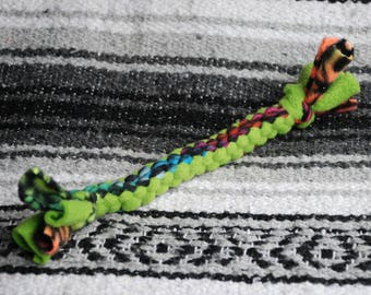 Fleece rope dog toy - Small