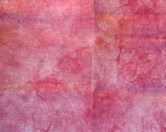 Hand-Dyed 32-count Belfast linen Cross Stitch Fabric, Mars Colorway