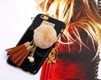 Lisa pompom iPhone case