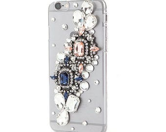 Stella jewel embellished iPhone case