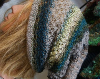 Noro Hand Knit Hand Made 100% Wool Hat made by Roisin Sheehy-Culhane