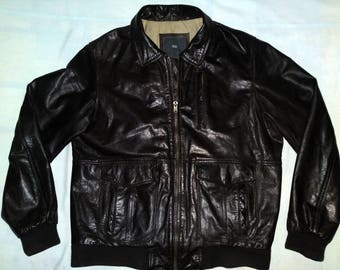 WE - Vintage Aviator Pilot Real Leather jacket type A-2, size XL