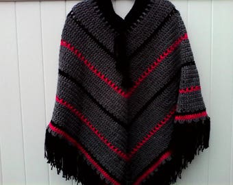 Ponchos for women and girls, made to order in your favorite color.