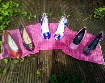 Shoes Decoupage service