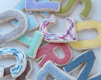 Alphabet Crochet Letter | A-Z (Ready to Ship)