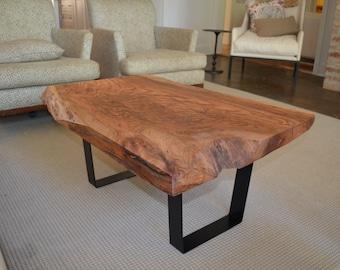Slab Coffee Table (Red Oak)