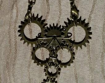 Flat Gear Slave Bracelet