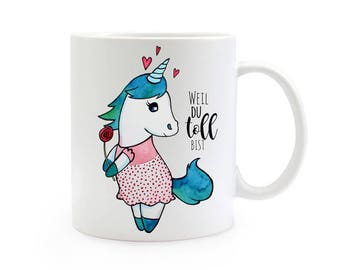 Gift coffee cup Unicorn you are great TS337