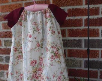 Peasant Dress / Pillowcase Dress/ Toddler Dress / Spring Dress / Summer Dress / Play Dress