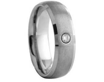 Tungsten Carbide Wedding Ring Band / Fashionable Ring, Wedding Band, Wedding ring, Mens ring, smooth ring, anniversary, strong, man, fashion