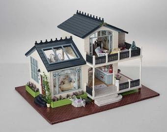 Provence - DIY Miniature Dollhouse Kit