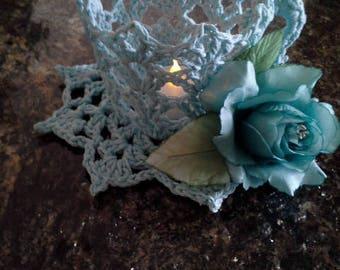 Handmade Crochet Teacup