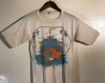 Vintage Style Super Soft T shirt Size S Ship Graphic