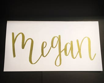 Bridesmaid Card by Name