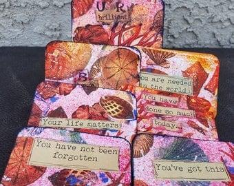 Handmade, one of a kind Inspirational Card Deck