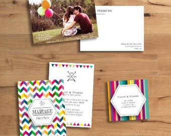 Invitation wedding Pop