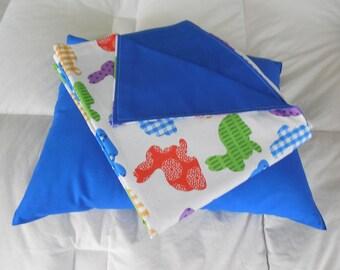 Beautiful Bunny Theme Blanket w Pillow