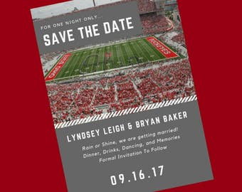 Ohio State Save the Date