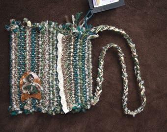 Small woven purse