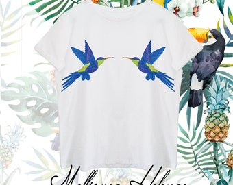 T-shirt Nature Collection/Mellisuga helenae