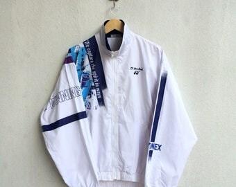 Vintage 90's Yonex Training  Zipper Jacket